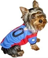 camiseta para perros barça