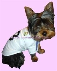 camiseta para perros real madrid