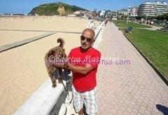 multa pasear perro playa