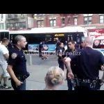 Un policía dispara a un Pitbull por defender a su dueño indigente