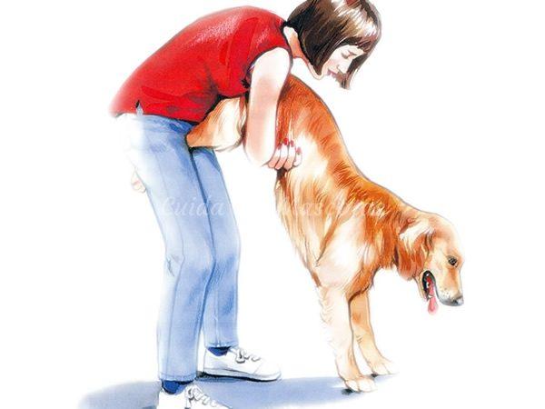 La asfixia en los perros